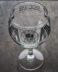 Steel River Goblet. Gin glass with Steel River Logo in Matt black