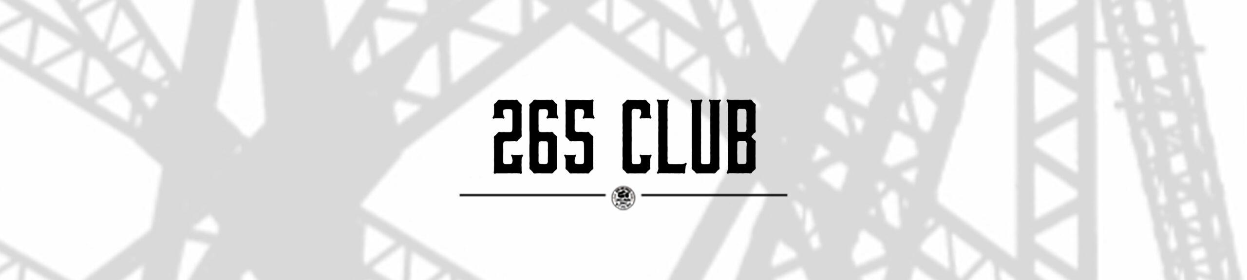 265 Club Title Header
